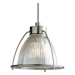 Progress Lighting - Illuma-Flex Pendant Light, Brushed Nickel - 12V low voltage mini-pendant with clear glass.
