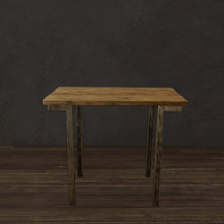 Reclaimed Wood Bar Pub Table - Bar Table