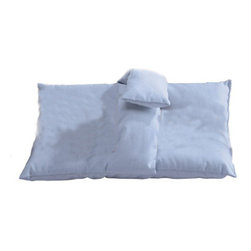 "Hermell Products Inc - Softeze Arm And Leg Pillow - L 14"" x H 20"" x W 2.5"" - Facilitates leg and arm suspension; to redistribute pressure from the weight of the users"