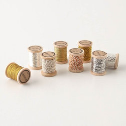 Vintage Thread Set - Mix and match these glittery threads to tie up a gift and add a little sparkle at the same time.