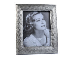 """Concepts Life - Concepts Life Photo Frame  Loving Link  8x10"""" - Inspired by fine jewelry, these silver Loving Link frames will add sparkle and a hint of romance to your photograph collection. Ideal for your home as well as for your loved ones!  Modern home accent Contemporary silver picture frame Beautiful and elegant home accent Rectangular photo frame Made of polyresin Textured glossy finish Easel back for horizontal or vertical display Various sizes available Holds 8 x 10 in. size photo Dimensions: 11""""w x 13""""h x 1""""d Weight: 3 lbs"""