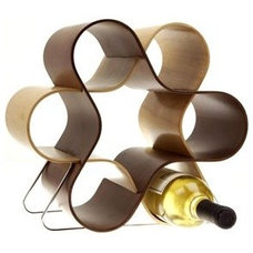 modern wine racks by Lumens