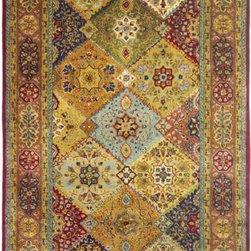 Safavieh - Safavieh Persian Legend PL512A 3' x 5' Red, Rust Rug - Historically Persian in elegance and refinement, Safavieh's Persian Court Collection offers classic time-honored designs in colors that span the gamut - from deep, rich jewel tones, to soft muted shades. Hand-tufted in China, these highly intricate carpets are made of pure premium wool and inlaid with lustrous, genuine silk. The genre is decidedly traditional, and formal. These carpets can easily be used to achieve a dramatic main theme, or, for adding a touch of quiet background elegance.