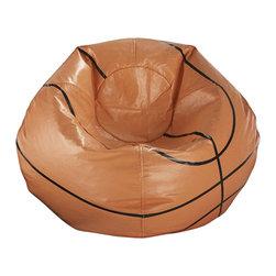 Ace Bayou - Ace Bayou Basketball Matte Bean Bag - Basketball Matte Bean Bag by Ace Bayou.