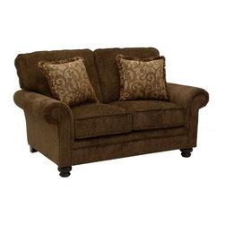 Jackson Furniture - Ellington Loveseat in Amber - 4260-02 - Ellington Collection Loveseat