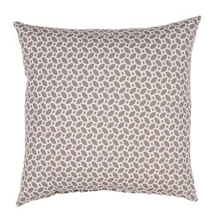 "Jaipur Rugs - Gray/Ivory color polyester odl little hipster poly fill pillow 18""x18"" - These fashion forward pillows, in trellis, stripes and whimsical patterns are for both indoor and outdoor use."