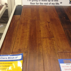 """Solid wood - Ciara Birch 5"""" wide. 3/4"""" thick"""
