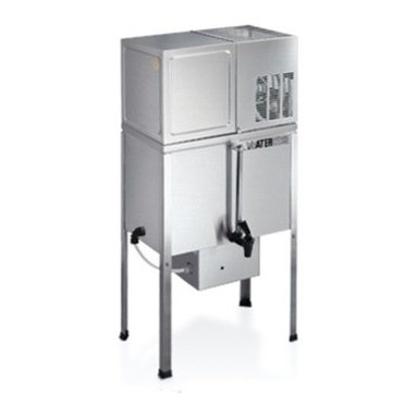 """Waterwise - Waterwise Water Distiller 7000 w/8 Gallon Reservoir - Guarantees maximum purity because it uses a seven stage process that effectively removes both organic and inorganic impurities Effectively removes substances such as arsenic, aluminum, bacteria, chloride, chlorine, chloroform, copper, fluoride, lead, mercury, nitrates, sodium, sulfate, trihalomethanes (THM) and viruses Fully automatic Produces up to 9 gallons a day and stores purified water in the stainless steel reservoir Patented""""gravity control"""" feed system eliminates the need for boiler floats, ensuring reliable performance Seamless, removable stainless steel boiler Stainless steel condenser -not aluminum Vent system Removable Dispensing spout. Dispensing spout can be placed in front of the unit or to the lateral side.  It also allows one to have both the spigot for dispensing and the remote pump hookup1100 watts Optional (not included in product price) remote pump system. This pump is able to deliver purified water up to 5 locations such as the icemaker, your kitchen sink, etc. Dimensions: 36 H x 17 D x 11"""" W 1-Year warranty"""