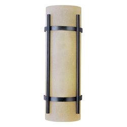 Maxim Lighting - Maxim Lighting 85219WSOI Luna EE Modern Outdoor Wall Light in Oil Rubbed Bronze - Maxim Lighting 85219WSOI Luna EE Modern Outdoor Wall Light In Oil Rubbed Bronze