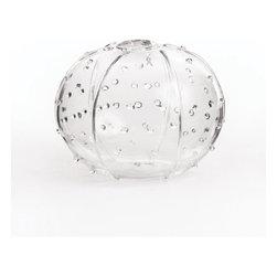 Sea Urchin Glass Vase - Round - Sea Urchin Glass Vase - Round