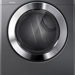 Samsung - DV365GTBGSF 7.3 cu. ft. Super Capacity Gas Steam Dryer With 9 Preset Dry Cycles - The new DV365 steam dryer from Samsung features a super capacity of 73 cu ft Steam Refresh will freshen all your clothes removing any odor left The Steam Wrinkle Away will remove most wrinkles letting you save time from ironing
