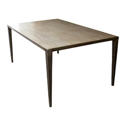 Mortise & Tenon - Contemporary Edison Dining Table - Edison Dining Table