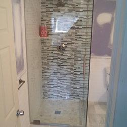 "Frameless Shower Enclosure ""Turkish"" Style - Exceptional Glass LLC"