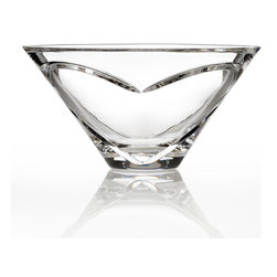 """Waterford - """"Love & Romance"""" Bowl - Waterford""""Love & Romance"""" BowlHighlightsDesigned with a modern heart motif this elegant crystal bowl from Waterford is perfect for accentuating the beauty of a single rose or flower. 6""""Dia. Imported.Designer About Waterford Crystal:Established in 1783 Waterford crystal is cherished around the world for its rich tradition of craftsmanship and artistry. Each piece from stemware to decorative items is still mouth blown and handcrafted by master artisans. A customary gift to royalty and heads of state a treasured heirloom for generations."""