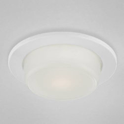 """Eurofase - Eurofase 26082-57 5-1/8""""H Shower Drop Opal Trim in White 26082-57 - 5-1 8""""H Shower drop opal trim.Bulb Type: LED Diameter: 5 Finish: White Height: 5-1 8 Number of Lights: 1 Shade: Opal White Style: Traditional Voltage: 120 Wattage: 10"""