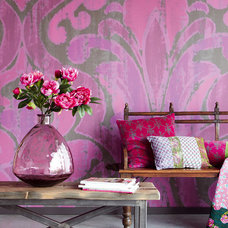 Eclectic Wallpaper by Fabric House