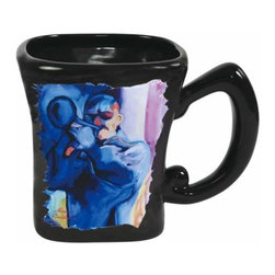 WL - Black Ceramic Coffee Mug with Jazz Blues Trumpet Musician Decoration - This gorgeous Black Ceramic Coffee Mug with Jazz Blues Trumpet Musician Decoration has the finest details and highest quality you will find anywhere! Black Ceramic Coffee Mug with Jazz Blues Trumpet Musician Decoration is truly remarkable.
