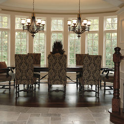 """Private Residences - Estate™ Collection, 3"""" European Golden Acacia hardwood floor, site sealed in natural color with Synteco 35 Satin finish."""
