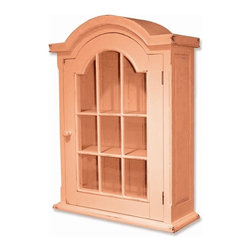 EuroLux Home - New Cabinet Pink Painted Hardwood Arched - Product Details