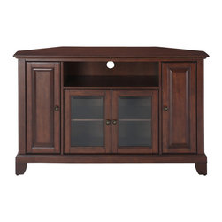 "Crosley - Newport 48"" Corner TV Stand - Dimensions:  18 x 47.8 x 29 inches"