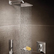 contemporary showers by Plumbateria