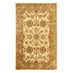 nuLOOM - Traditional 8' x 10' Ivory Hand Tufted Area Rug Persian - Made from the finest materials in the world and with the uttermost care, our rugs are a great addition to your home.