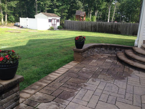 Help Extending My Patio For A Pool