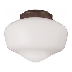 Monte Carlo - One Light Bronze Fan Light Kit - One Light Bronze Fan Light Kit