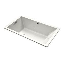 "KOHLER - KOHLER K-1173-G-0 Underscore 5.5' Acrylic BubbleMassage Bath, 66"" x 36"" x 22"" - KOHLER K-1173-G-0 Underscore 5.5' Acrylic BubbleMassage Bath, 66"" x 36"" x 22"" in White"