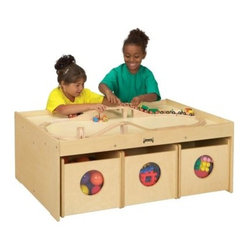 Jonti-Craft Kydz Activity Table With 6 Bins