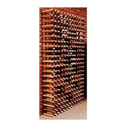Vinotemp - Cellar Trellis 82.5 in. Wine Rack - Freestanding unit. Made from wood and powder coated metal. Fits 264 bottles. 45 in. W x 10.5 in. D x 82.5 in. H (264 lbs.). Cellar trellis collection. Custom made: 8 to 10 weeks lead time. 3.75 in. universal racking fits most bottle sizes. Warranty. Assembly InstructionsA great use for any space, this unit can be used as a module in a larger rack system.