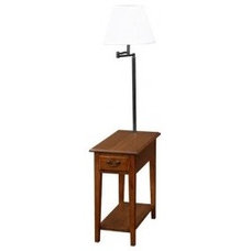 Leick Furniture Favorite Finds Chairside Lamp Table - 9037-MED