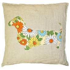 Contemporary Pillows by Kathy Kuo Home