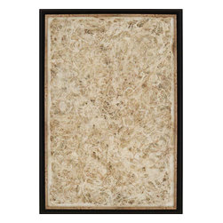 Paragon - Amate Lace - Framed Art - Each product is custom made upon order so there might be small variations from the picture displayed. No two pieces are exactly alike.