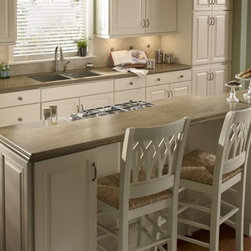 Corian® Sonora overall kitchen. - Photo by DuPont