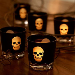 Skull Votive Cup - I love these skull votives!