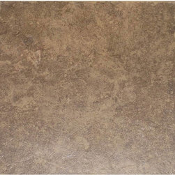 Style Selections La Balantina Brown Ceramic Floor Tile - If you do want to go with ceramic tile, there are plenty of inexpensive options out there. This beautiful, warm-toned tile is less than $1 per square foot!