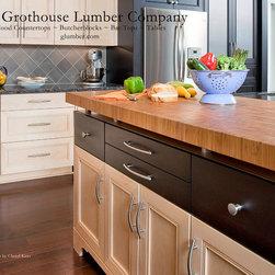 Contemporary Kitchen Countertops -