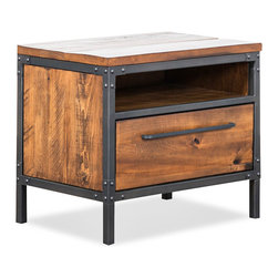 Rustic Nightstands & Bedside Tables: Find Metal Night Stands and Mirrored Nightstand Designs Online