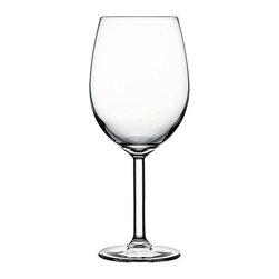 Hospitality Glass - 8.5H x 2 3/4T x 3B Primetime 17.5 oz Tall Wine Glasses 12 Ct - Primetime 17.5 oz Tall Wine