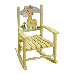 Teamson Design - Teamson Kids Rocking Chair Giraffe - Teamson Design - Kids Rocking Chairs - W8339A.