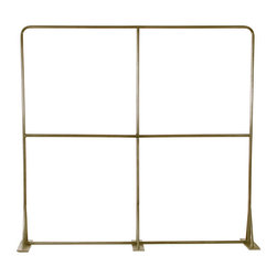 Milan Garment Rack, Antiqued Brass - This sturdy two level commercial grade garment rack gives you over 24 linear feet of hanging space.