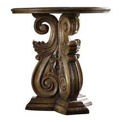 Hooker Furniture - Hooker Furniture Melange Serafina Accent Table - Hooker Furniture - Accent Tables - 63850068 - Come closer to Melange, and you will discover something unexpected, an eclectic blending of colors, textures and materials in a vibrant collection of one-of-a-kind artistic pieces.
