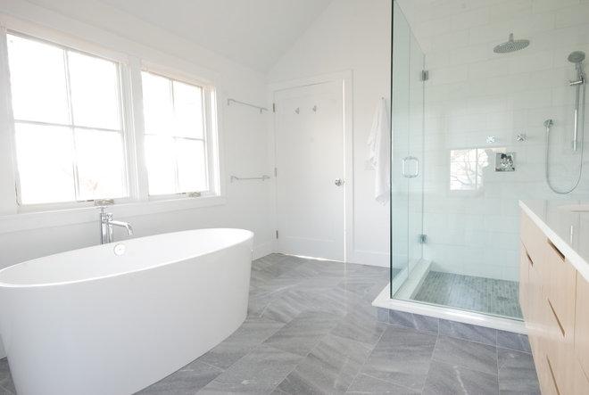 Contemporary Bathroom Master Bathroom