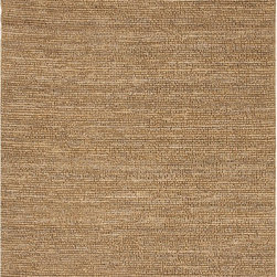 JRCPL - Natural Solid Hemp/ Jute Gold/ Yellow Woven Rug (5' x 8') - This rug from the Calypso Collection is proof that simplicity is a wonderful approach to decoration. Crafted of natural jute,this rug is expertly woven by hand to impeccable standards of quality for a relaxed feel of comfort.