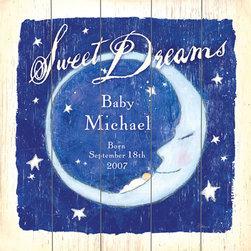 RR - Boys Sweet Dreams Vintage Wood Sign - Boys Sweet Dreams Vintage Wood Sign