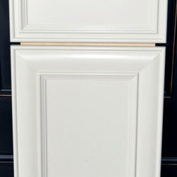 Door Styles and Finishes - Door- Flat Panel with Pillow Frame with inside and outside frame detailing