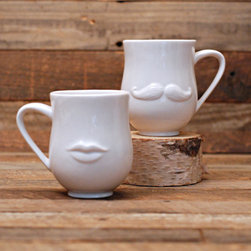 Mouth Mugs - Kitsch and the holidays? Yes, please! I love adding a little flavor whenever I entertain, and these incredible, sweet and well-designed ceramic mugs are perfect to make my family smile as they sip hot chocolate.
