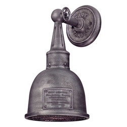"""Troy Lighting - Troy Lighting B2941 Raleigh 1 Light 13"""" Outdoor Wall Sconce - Troy Lighting B2941 Raleigh 1 Light 13.25"""" High Outdoor Wall SconceThese industrial styled exterior wall sconces will look great in the right setting.Troy Lighting B2941 Features:"""
