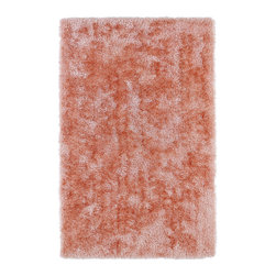 Kaleen - Kaleen Posh Collection PSH01-97 2' x 3' Salmon - Posh is the perfect rug to make your feet say ooh and ahhh!! Super plush and silky to the touch, this hot new shag rug is exactly what your room has been asking for! Find the perfect spot to curl up on after a long day or bring in your favorite pop of color for a complete room makeover. The Posh collection allows for diversity and fashionable style for all of your decorating needs with over 20 colors to choose from. Each rug is handmade in China of the finest 100% polyester.